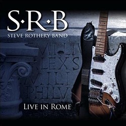 LIVE IN ROME STEVE ROTHERY