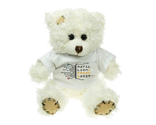 WEEKEND 2017 TEDDY BEAR PLUSH TOY
