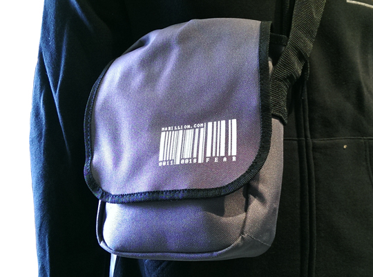 WEEKEND 2017 BARCODE BAG MESSENGER STYLE