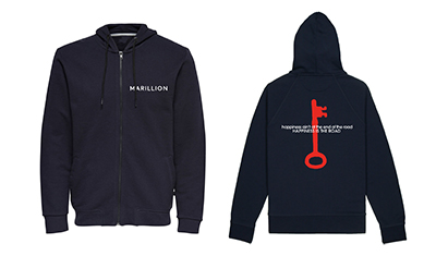MARILLION HAPPINESS IS THE ROAD HOODIE