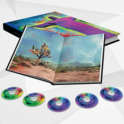 Afraid Of Sunlight Deluxe Edition 5 Disc CD / Bluray Box Set